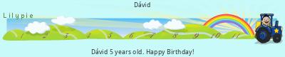 Lilypie Fifth Birthday (4Acg)