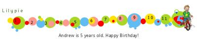 Lilypie Fifth Birthday (74ya)