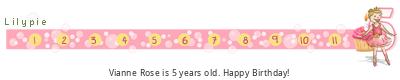 Lilypie Fifth Birthday (HKtb)