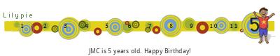 Lilypie Fifth Birthday (eU5c)
