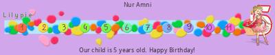 Lilypie Fifth Birthday (yZio)
